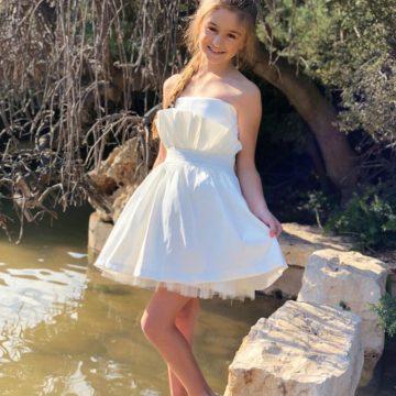 שמלות בת מצווה מידות גדולות